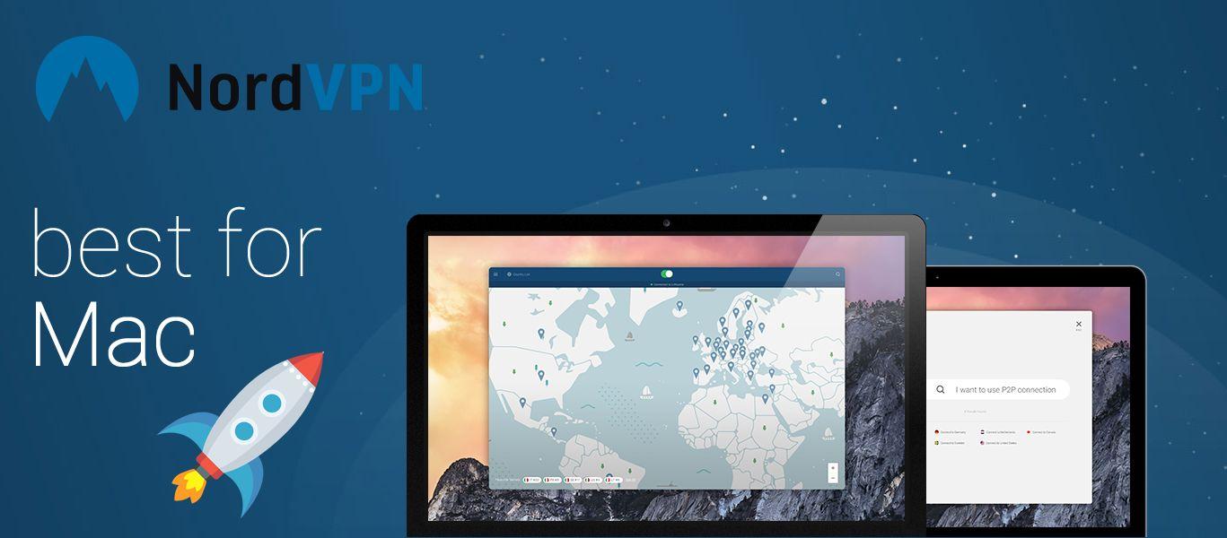 NordVPN - das beste VPN für Mac
