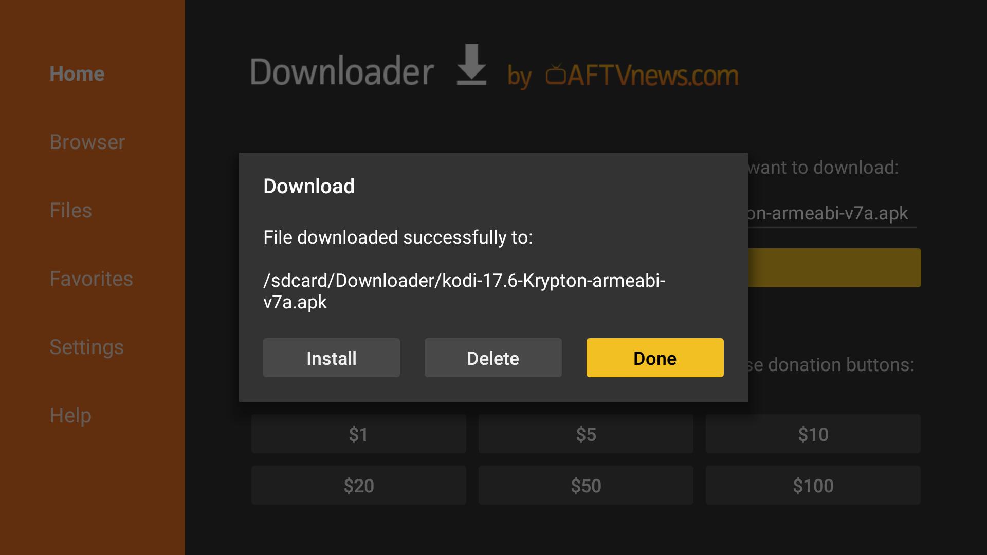 Run Multiple Kodi Builds Fire Stick 7 – Downloader app