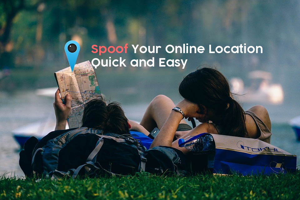 Spoof your location online