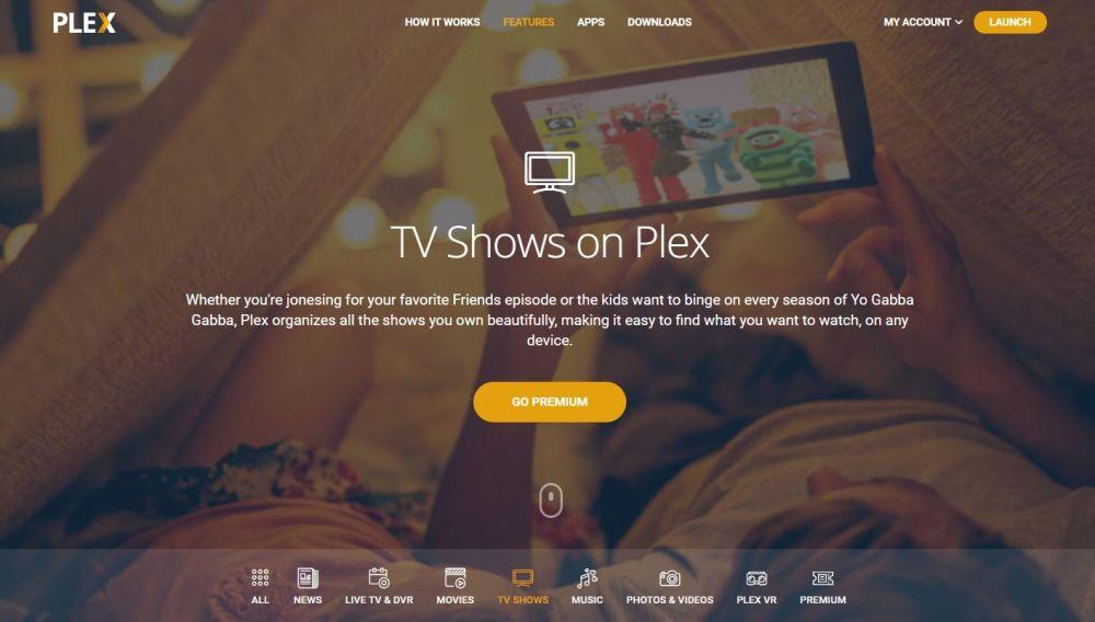 Stream with Plex Media Server 1