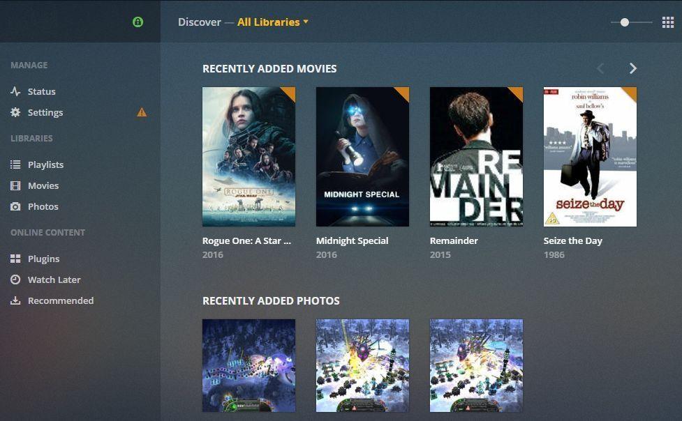 Stream with Plex Media Server 6 -Plex library