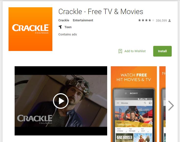 Terrarium TV Alternatives Crackle