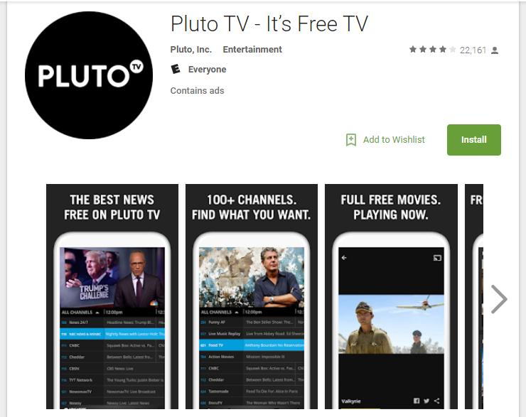 Terrarium TV Alternatives Pluto TV
