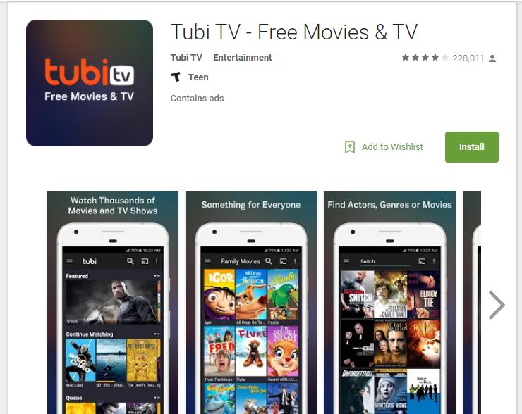 Terrarium TV Alternatives Tubi TV