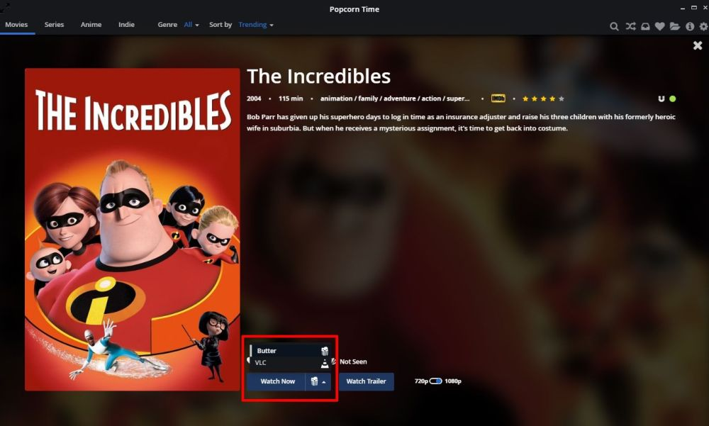 Watch Popcorn Time Chromecast 7 -Stream movies on Popcorn Time