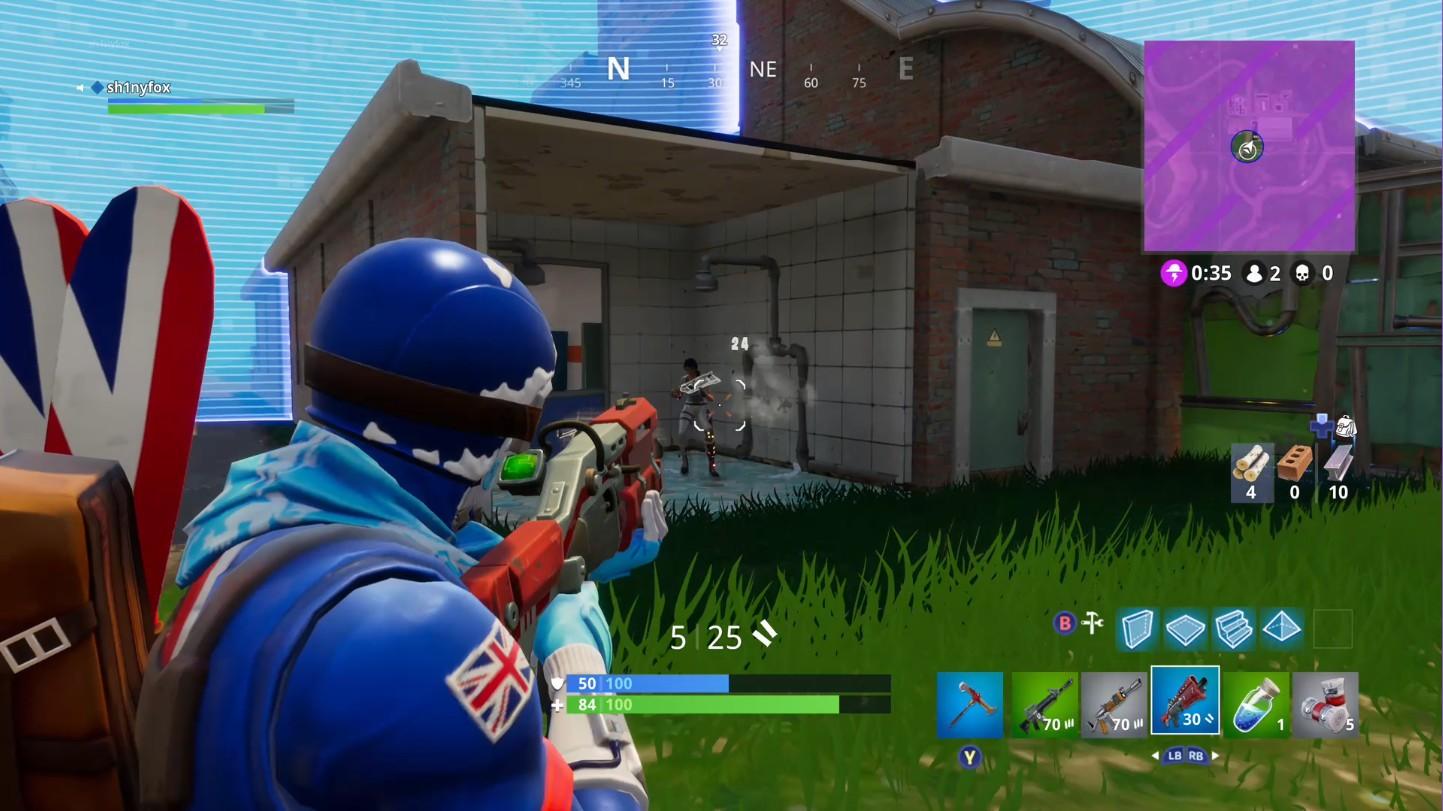 More Fortnite gameplay