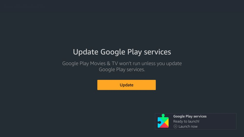Install Google Play on Fire Stick – Update Play Services