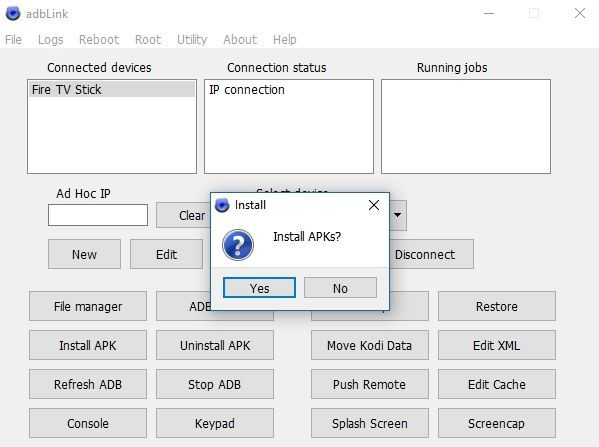 Install Google Play on Fire Stick – adbLInk Install APK