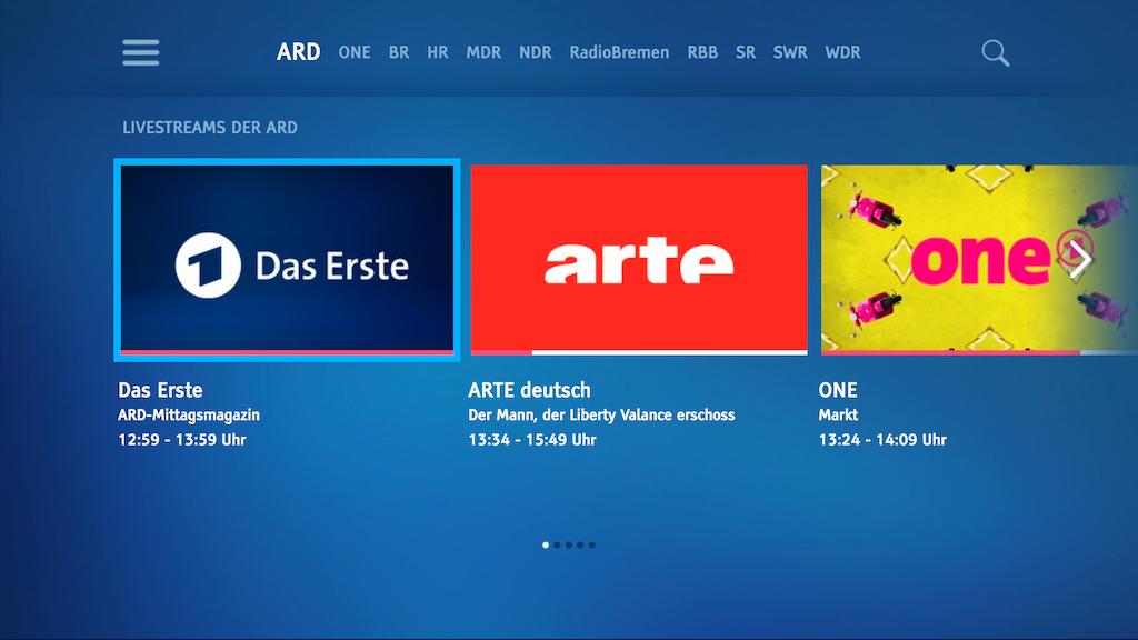 ARD online streaming