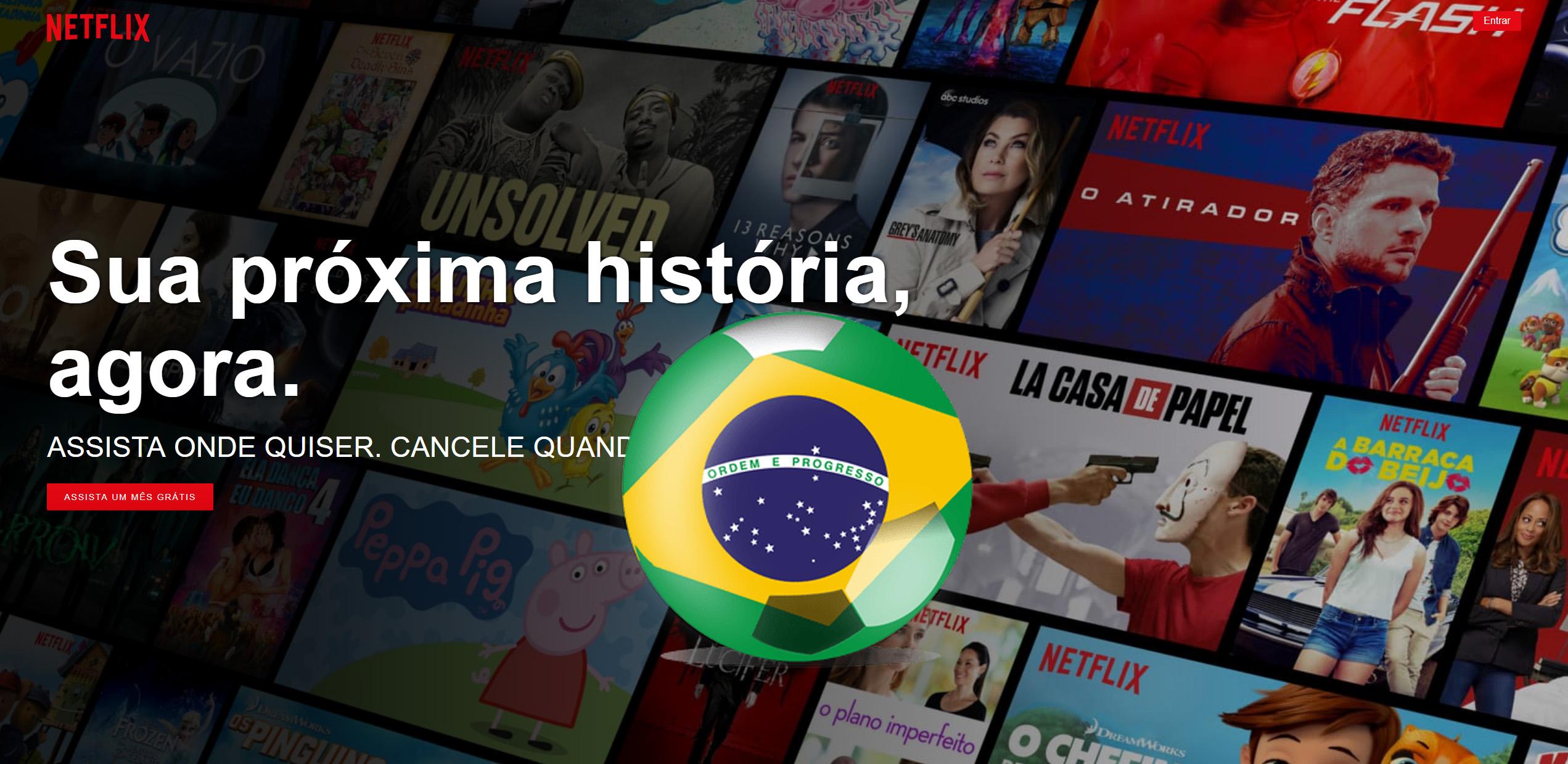 Best VPN for Netflix Brasil