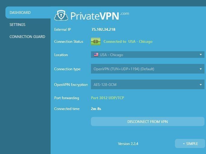 Watch Netflix PrivateVPN 6 VPN settings