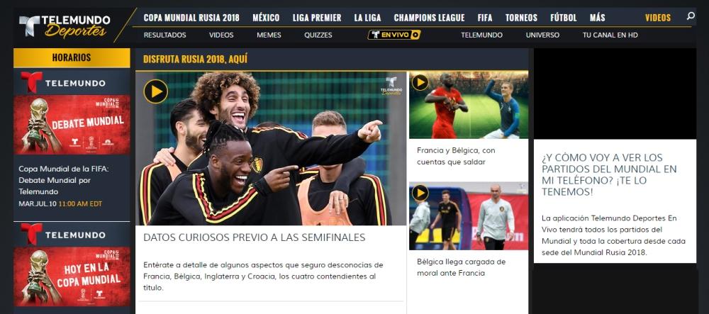 Best VPN Watch Telemundo Deportes 1