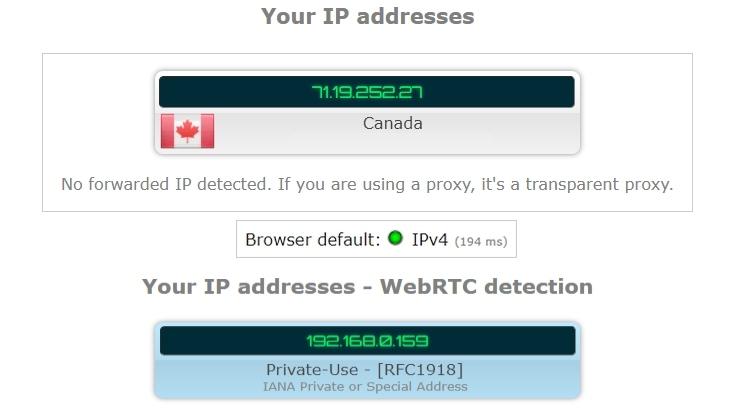 How to Get a Turkish IP Address 6 IP leak test