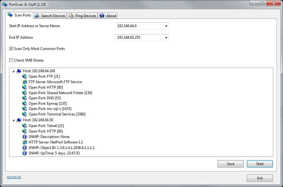 PortScan and Stuff Screenshot