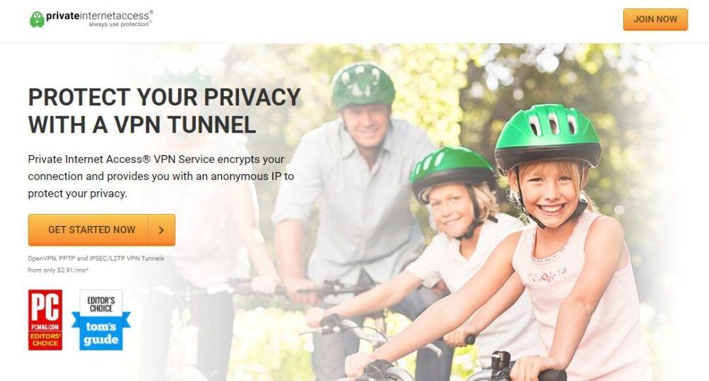 Private Internet Access port forwarding