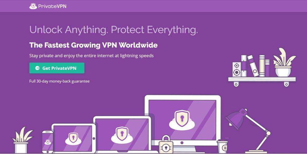 VPN for O2UK – PrivateVPN