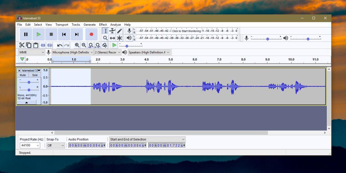 audacity sound file