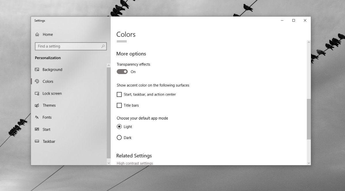 win 10 color settings