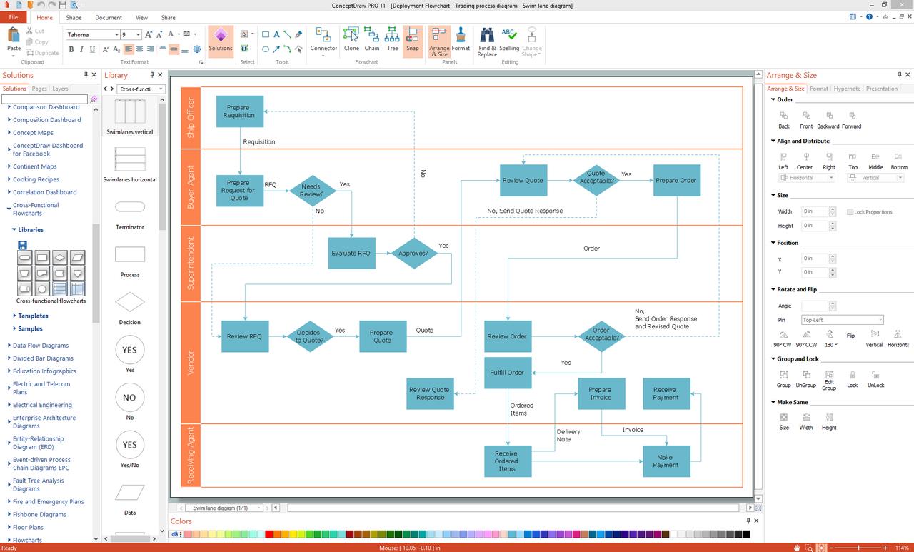 ConceptDraw Pro Screenshot