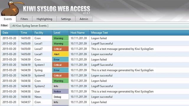 Kiwi Screenshot