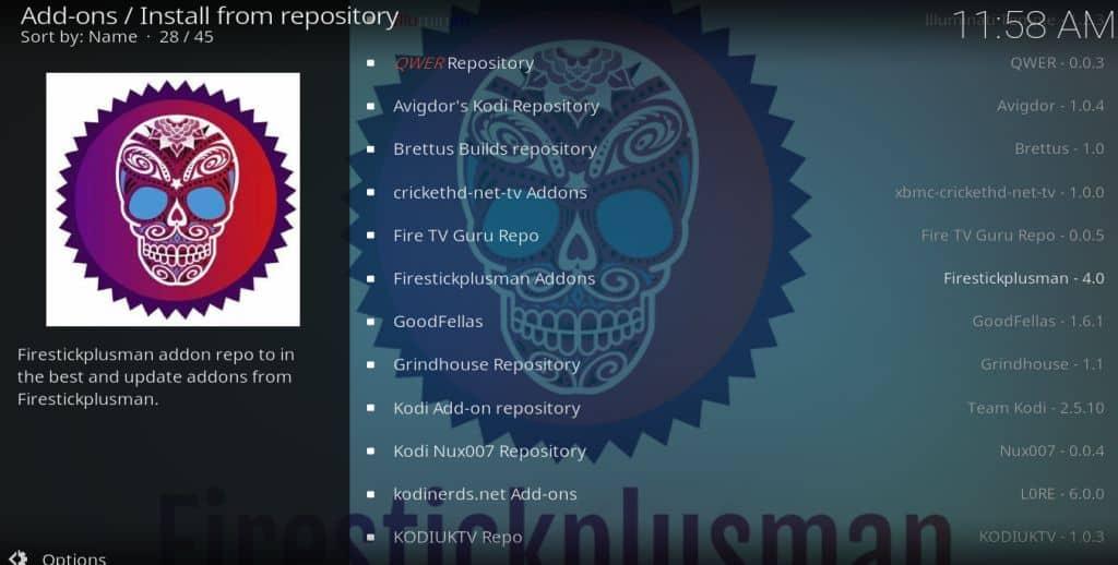 Aptoide Kodi Firestickplusman Repository