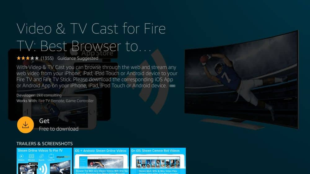 How to Stream iPhone to Firestick 4 – Video TV cast