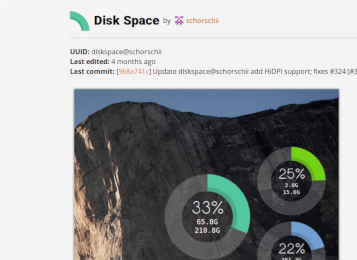 diskspace