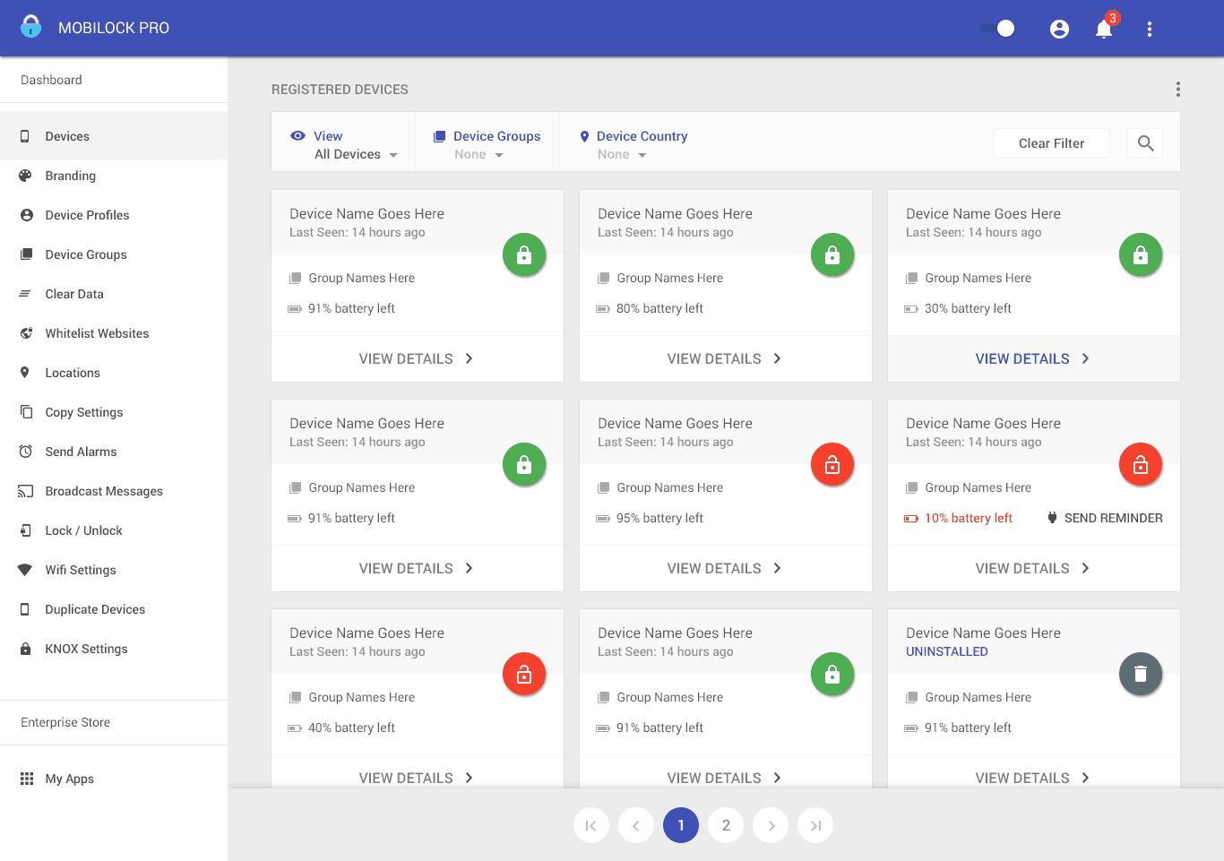 Mobilock Pro Screenshot