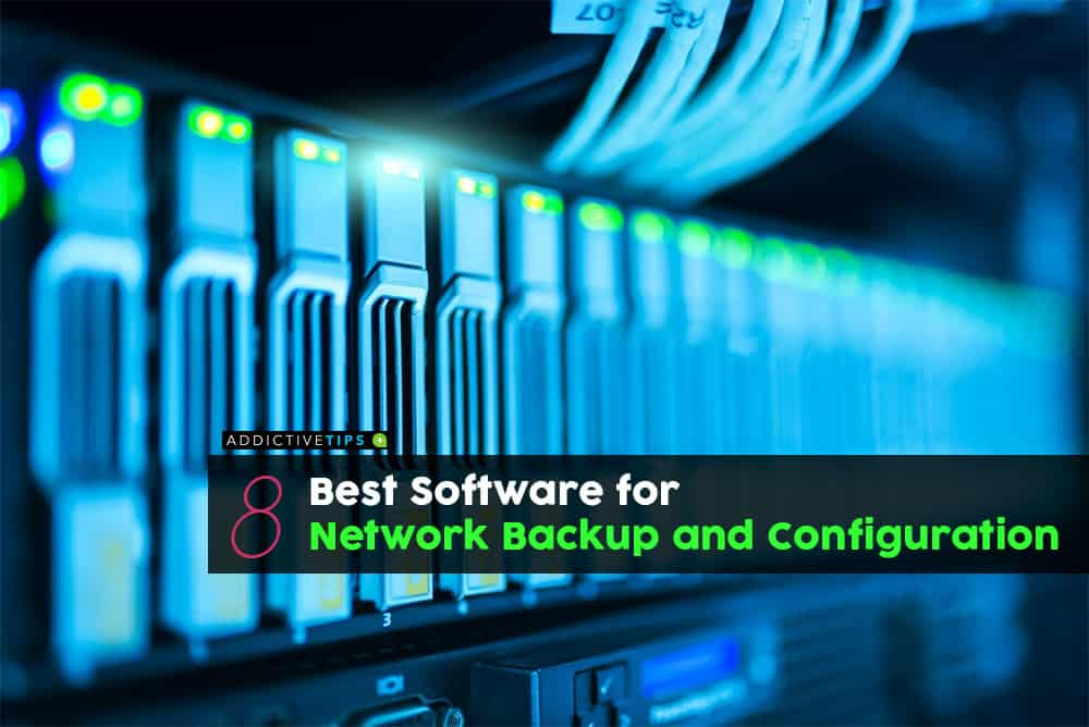 Network Backup and Configuration tools