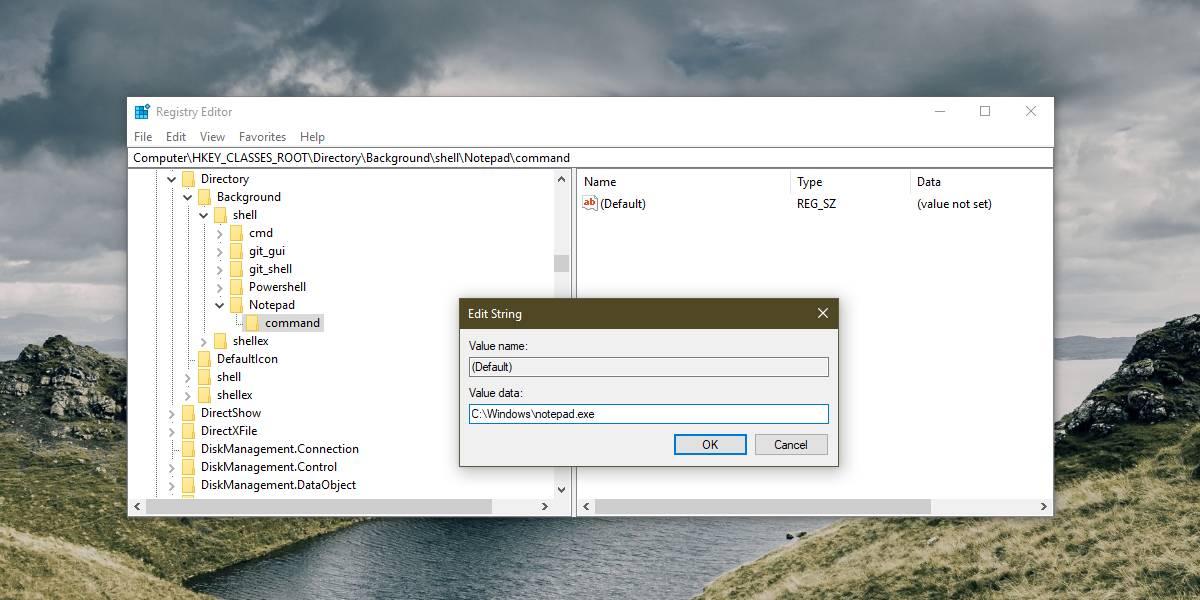 edit right click menu