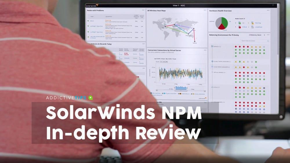 SolarWinds NPM review