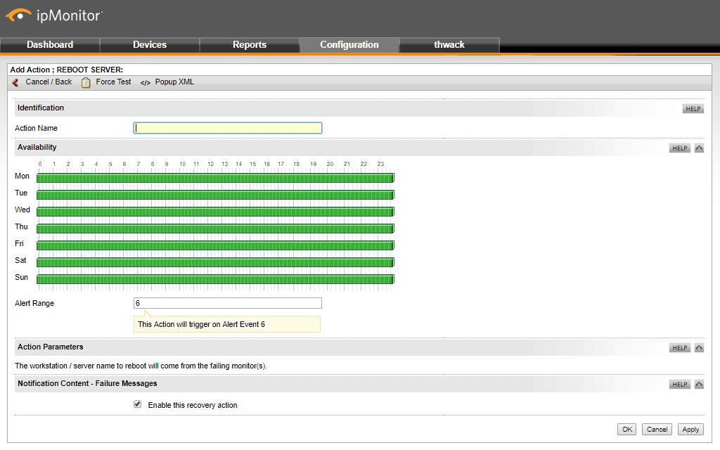 SolarWinds ipMonitor - Automation