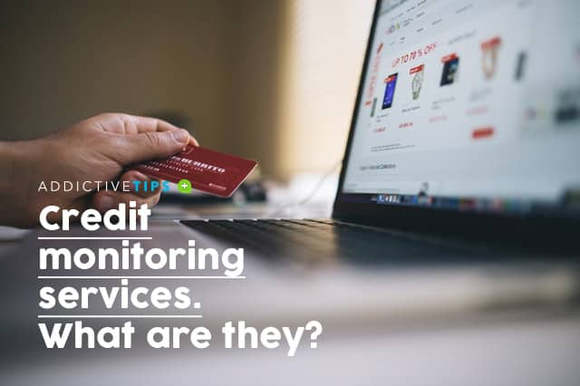 What is a credit monitoring service