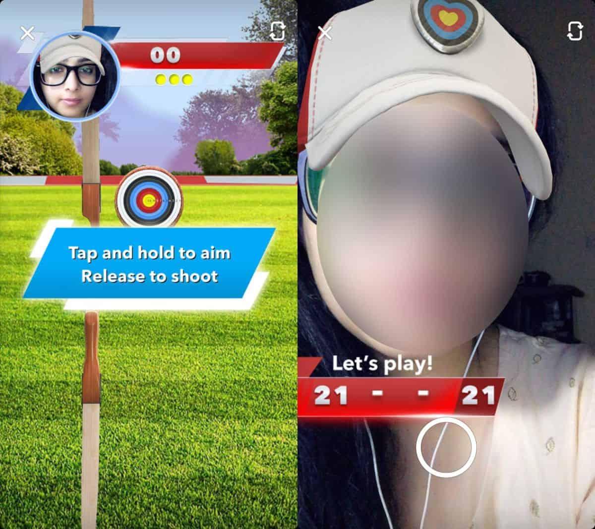 snapchat games 1