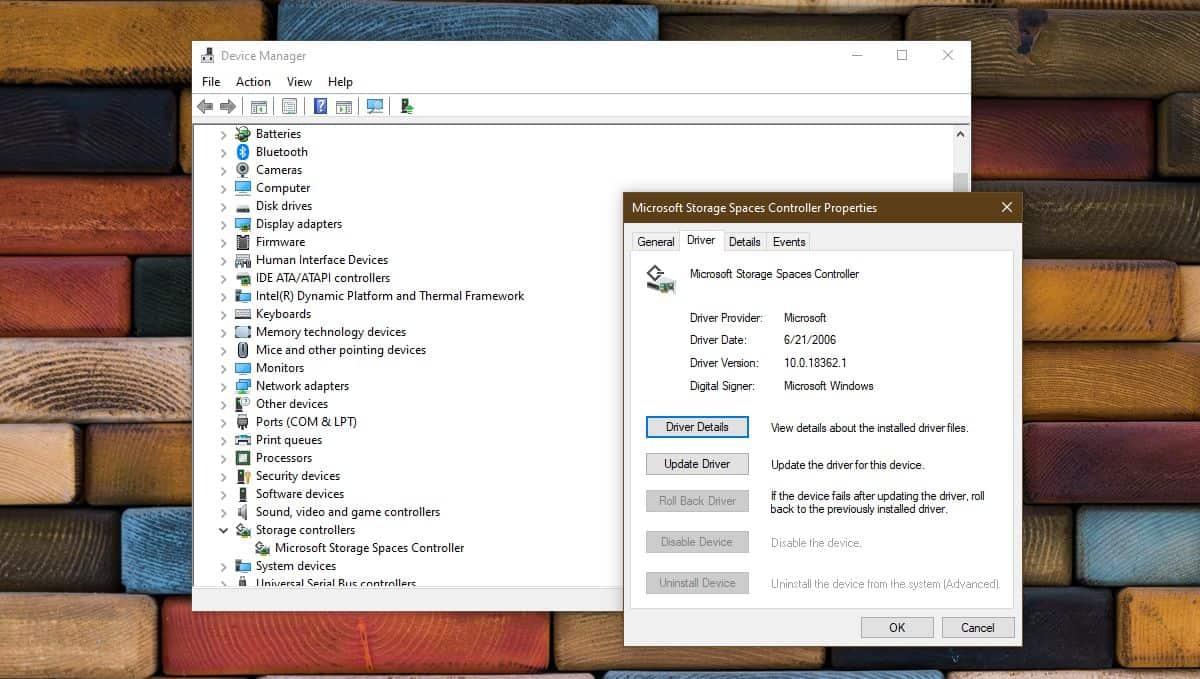 storage controller driver update