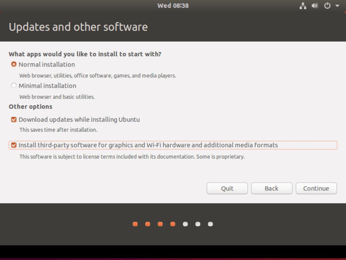 ubuntu-selections