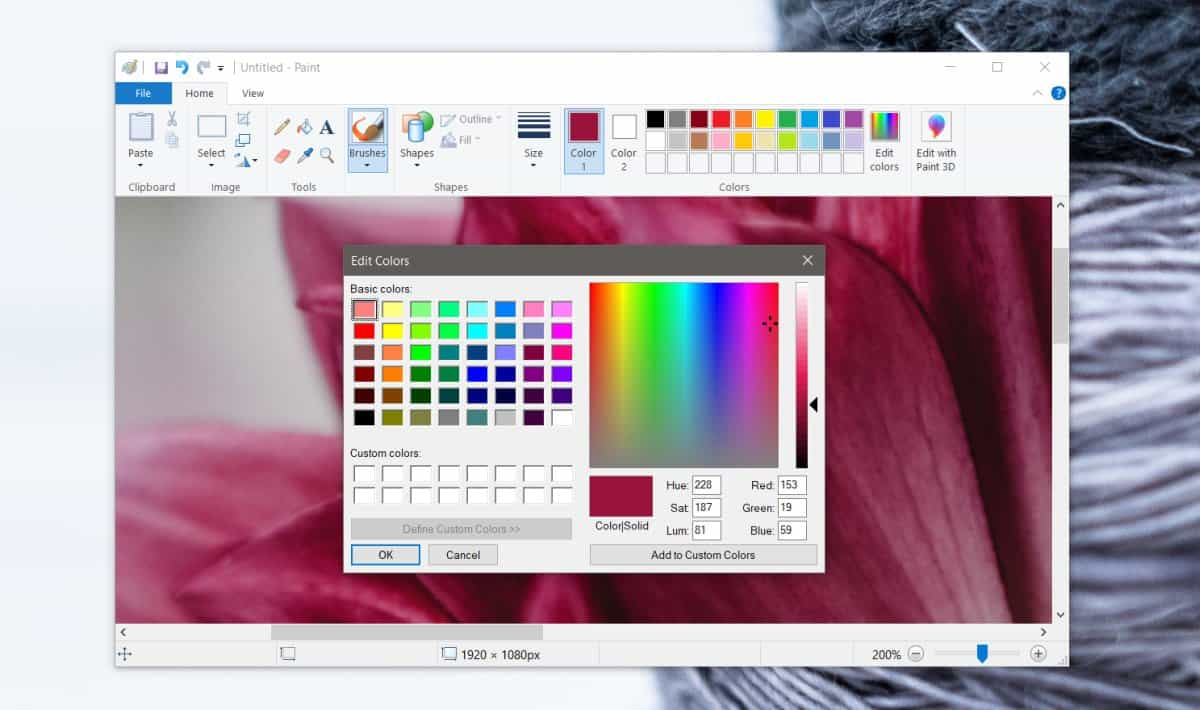 color code paint