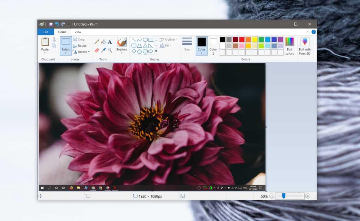 paint screenshot