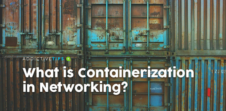 What is Containerization in Networking
