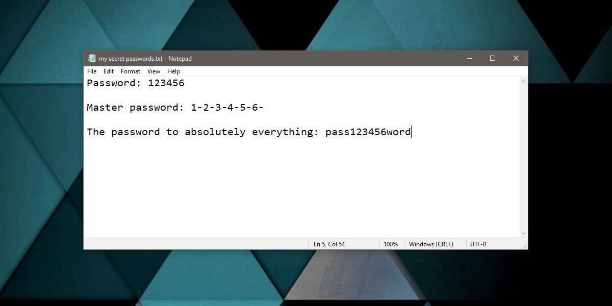 prevent a file from being recovered