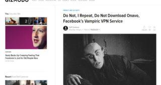 Onavo Protect da Facebook NON È una VPN e non dovresti assolutamente usarlo