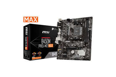 MSI ProSeries AMD Ryzen 1st and 2ND Gen AM4 Micro-ATX Motherboard