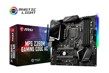 MSI MPG Z390M Gaming Edge AC LGA1151 (Intel 8th and 9th Gen)