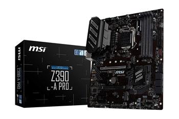 MSI Z390-A PRO LGA1151 (Intel 8th and 9th Gen)