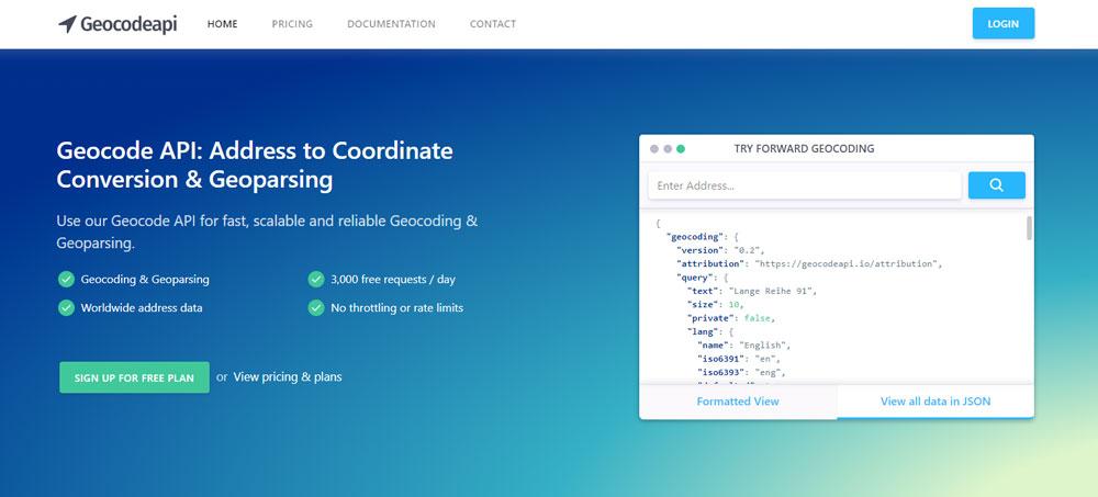 Geocode API: Address to Coordinate Conversion & Geoparsing
