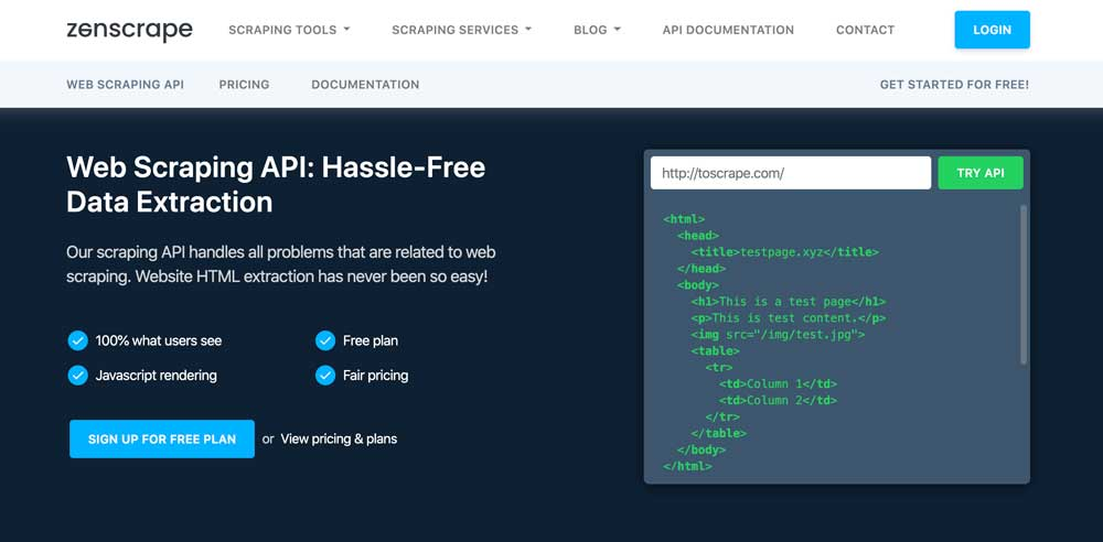 Web Scraping API: Hassle-Free Data Extraction