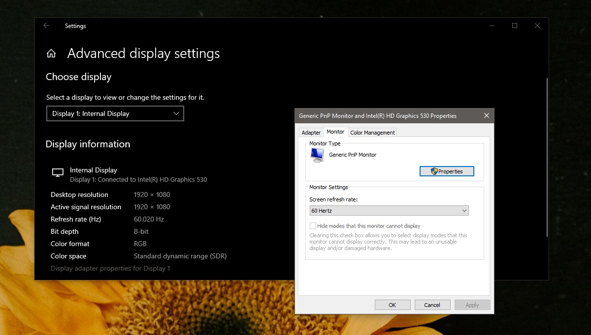screen tearing issues 2
