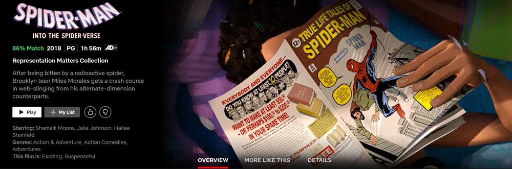 How to Watch Spider-Man: Into the Spider-Verse on Netflix