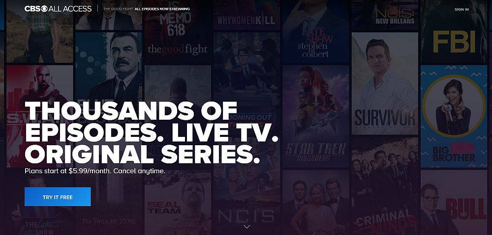 Watch CBS All Access from anywhere