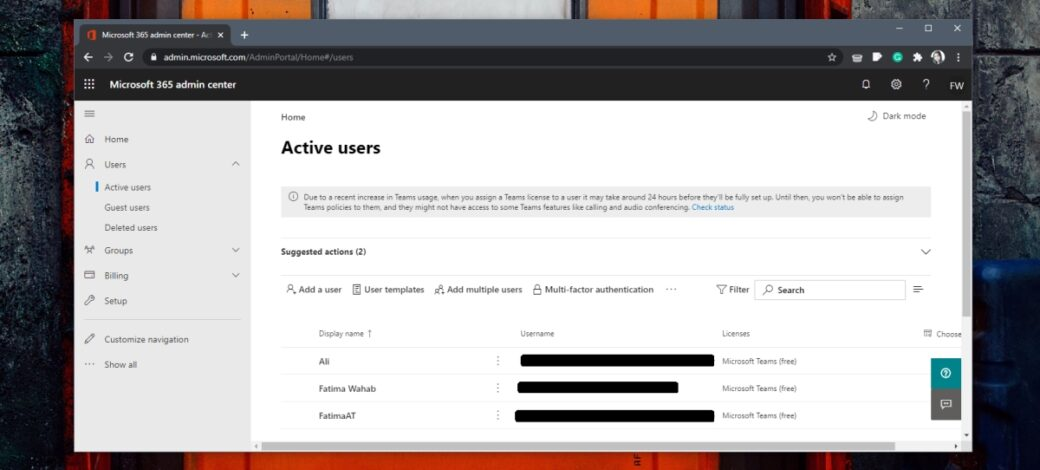 How to sign in to Microsoft 365 Admin Center